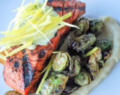 Boathouse Grilled Wild King Salmon